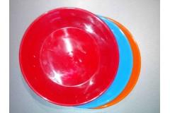 Тарілка пластикова 19 см .